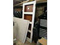 4 solid wood panel doors