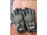 Barbour Large Neoprene Fishing ? gloves