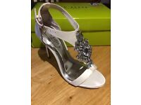 Brand New Ted Baker Shoes Size 3UK (Light Cream- Bought for Wedding)