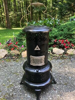 Vintage Antique Working 525 Perfection Oil Kerosene Parlor Cabin Heater Stove !