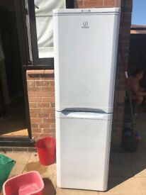 Indesit fridge freezer full working order white