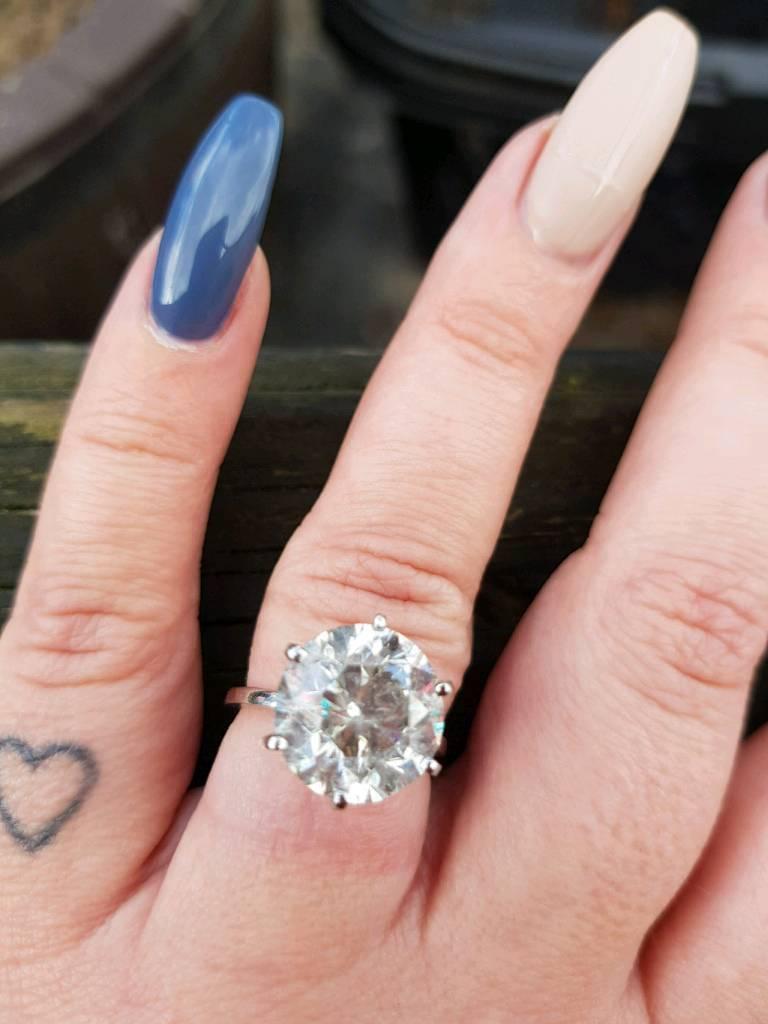 7.17 carat Diamond ring. | in Hedge End, Hampshire | Gumtree
