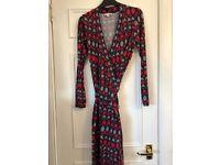 Boden wrap dress size 14 L