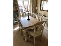 Stunning Antique Dining Table & Chairs