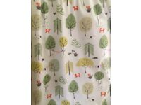 John Lewis Child's blackout bedroom curtains and single bedding