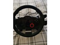 Logictech Steering wheel & pedals