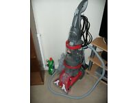 Vax Carpet Washer,V-1241 Dual V, used only once.