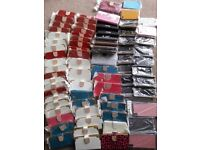 Joblot of 80 phone covers