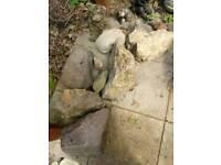 Large Stones Rocks Garden rockery