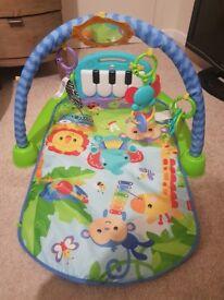 Various baby items. Beanbag, playmat, baths etc