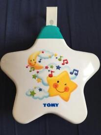Tomy baby star light dream show night light