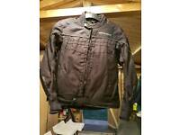 """Spada motorbike jacket large 40-42"""" It has 2 zips, Inner One Is Ok But Outer Zip Puller Has Come Off"""