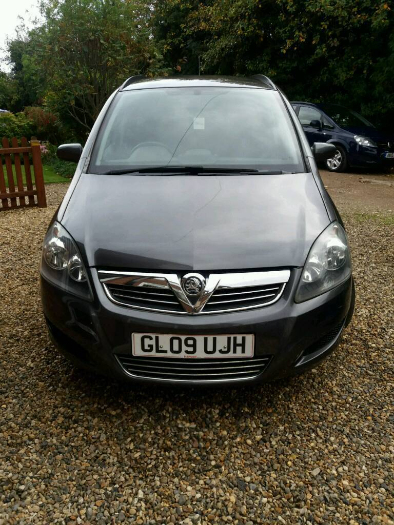 Vauxhall Zafira Life 1.6 (1598cc), 5 speed manual, Petrol in Slate Grey