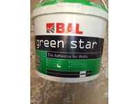 Green star tile adhesive