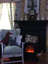 laura ashley covered chair