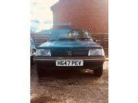 Peugeot 205 Style 1991 - not starting