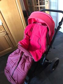Jane muum pram and matrix light 2 travel system