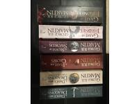 A Song of Ice and Fire (Game of Thrones) books 2-7
