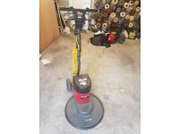 high speed victor floor buffer with drive board .fantastic condition