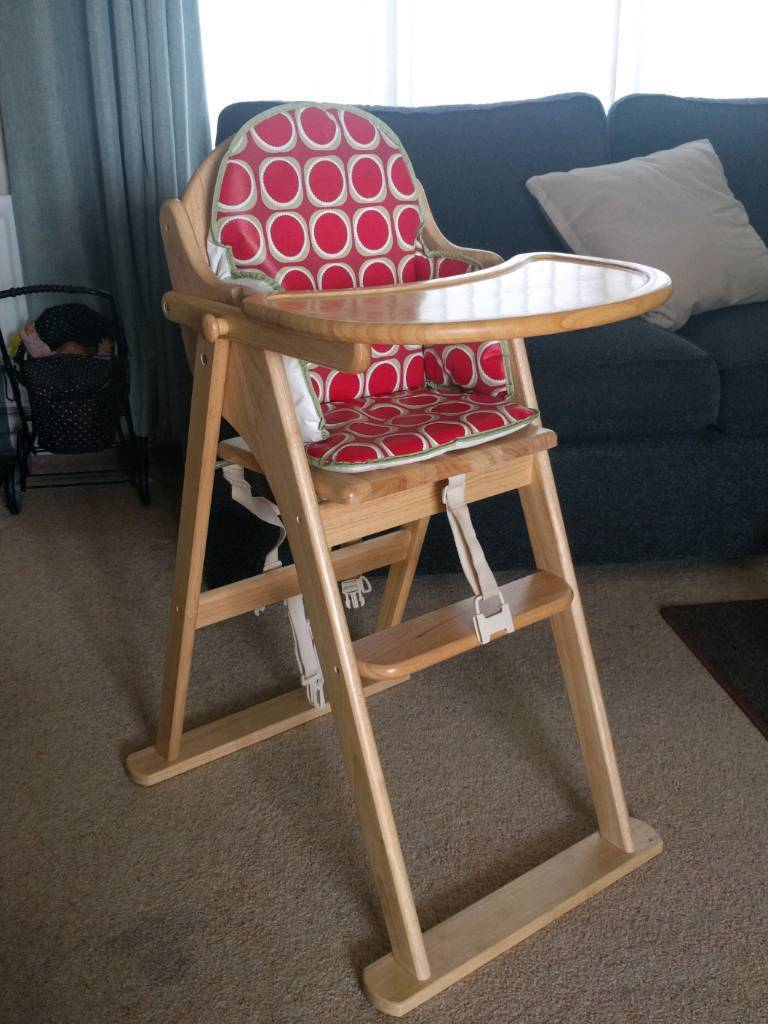 Eastcoast solid wood high chair