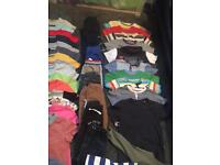 Boys clothes bundle age 3-4 and 4-5 years