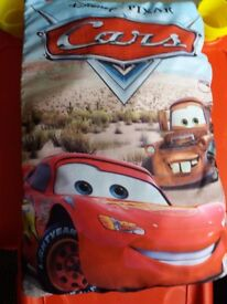 CARS storybook pillow and scarf
