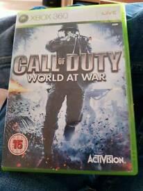 Cod world at war xbox 360