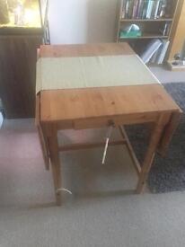 Ikea expandable table