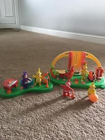 Telly tubbies toy bundle