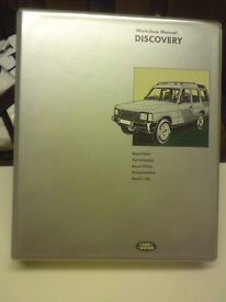Land Rover Discovery Workshop Manual. Factory manual all models to October 1993