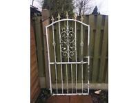 Metal garden gate ** SOLD **