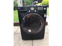Washing machine LG 9kg Black