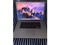 "Apple MacBook Pro A1297 17"" 2.3ghz i7 CPU, 8GB Ram, 500GB, Radeon 6750, Matte"
