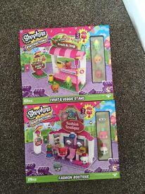 Brand new shopkins toys £5 each