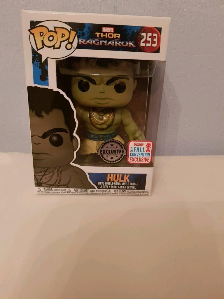 Casual Hulk (Ragnarok) Vinyl Pop Funko - Comic Con Fall convention exclusive