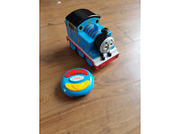 Thomas with remote controller
