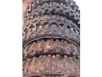 various size motocross tires