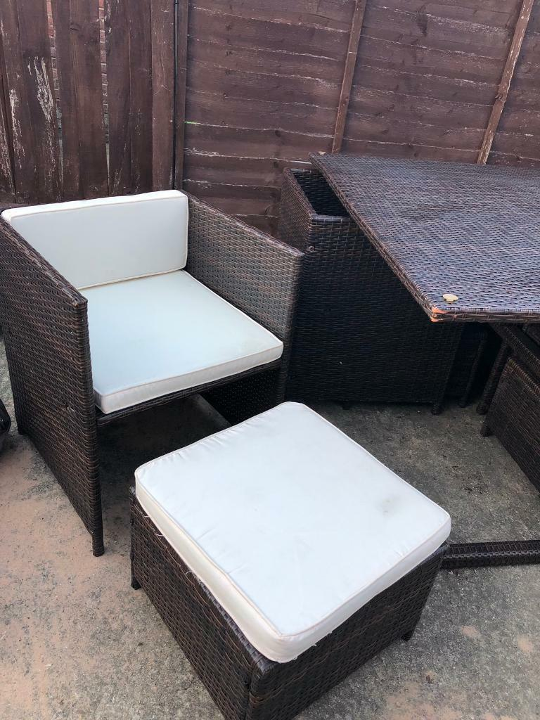 Marvelous Rattan Garden Furniture Diner Lounger Chair Seat In Southampton Hampshire Gumtree Andrewgaddart Wooden Chair Designs For Living Room Andrewgaddartcom