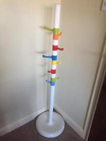 Children's hat and coat stand