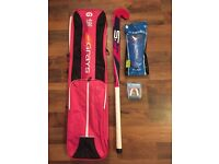 **BRAND NEW** Hockey bag, stick, gum shield and shin pads! Never used, unwanted gift