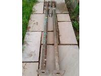 2 x size 1 Acrow Props (1.75m - 3.10m)