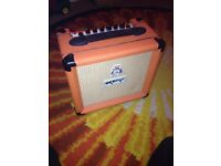 Orange Crush 12L Guitar Amplifier Practice Amp 12 Watts