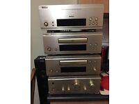 Denon stack system, Linn keilidh speakers plus more
