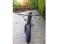 Fat bike, avigo bike , was £140 new, suits 10/11/12 year old