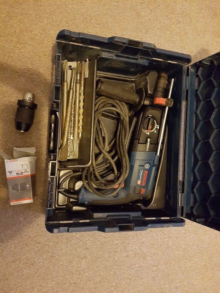 Bosch GBH 2-28 F SDS+ Rotary Hammer in L-BOXX 240v