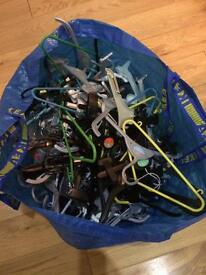 Free kids' clothes hangers