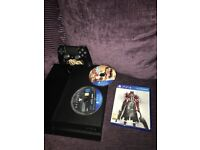 Ps4 with GTA 5, Bloodborne and destiny + nearly new controller(1 month old)