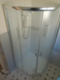 Quality Corner Shower Enclosure and Tray