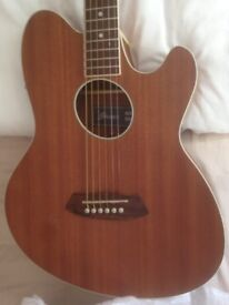 Ibanez talman electro acoustic guitar as new in the box with tags.