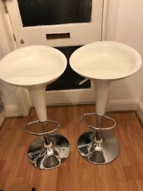 Kitchen stools White colour